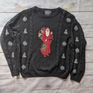 Woolrich Santa Christmas Sweater
